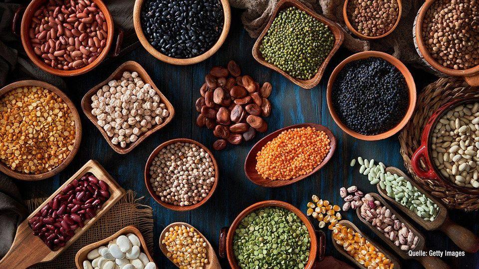 Algen, Mandeln & Co.: Zehn vegane Nahrungsmittel mit viel Protein