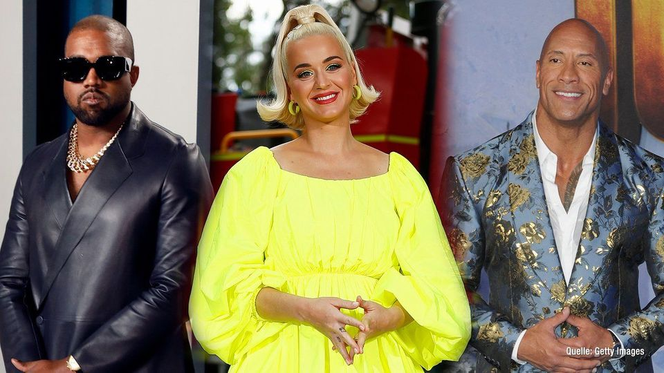 """Katy Perry, """"The Rock"""" & Co. wollten schon US-Präsident werden"""