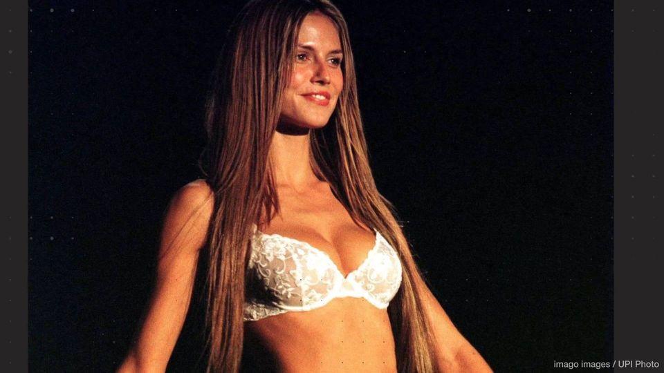 Heidi Klum in sexy Dessous - heiße Bilder aus Victoria's-Secret-Zeiten