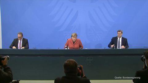 Ab Mittwoch: Bund und Länder beschließen harten Lockdown