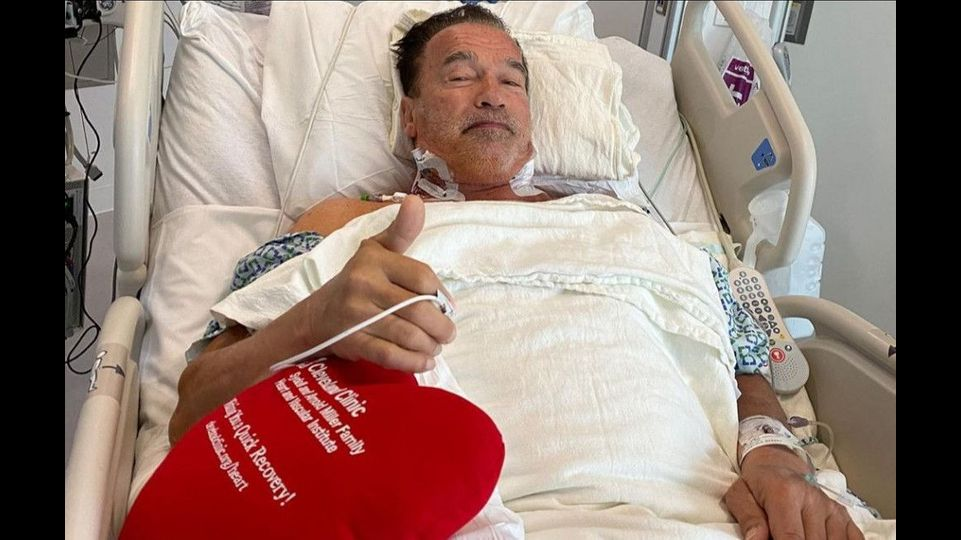 Arnold Schwarzenegger undergoes heart surgery in Cleveland
