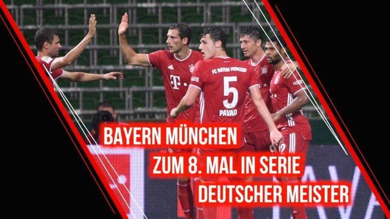 Bayern feiert 30. Meistertitel - Paderborn erster Absteiger