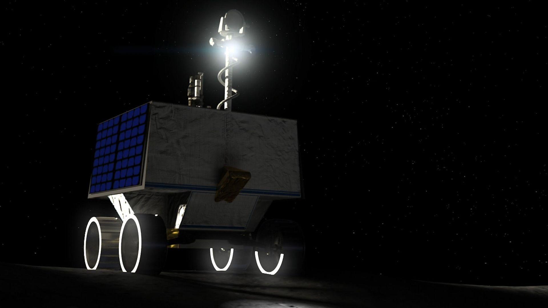 NASA schickt Roboter zum Wassersuchen auf den Mond
