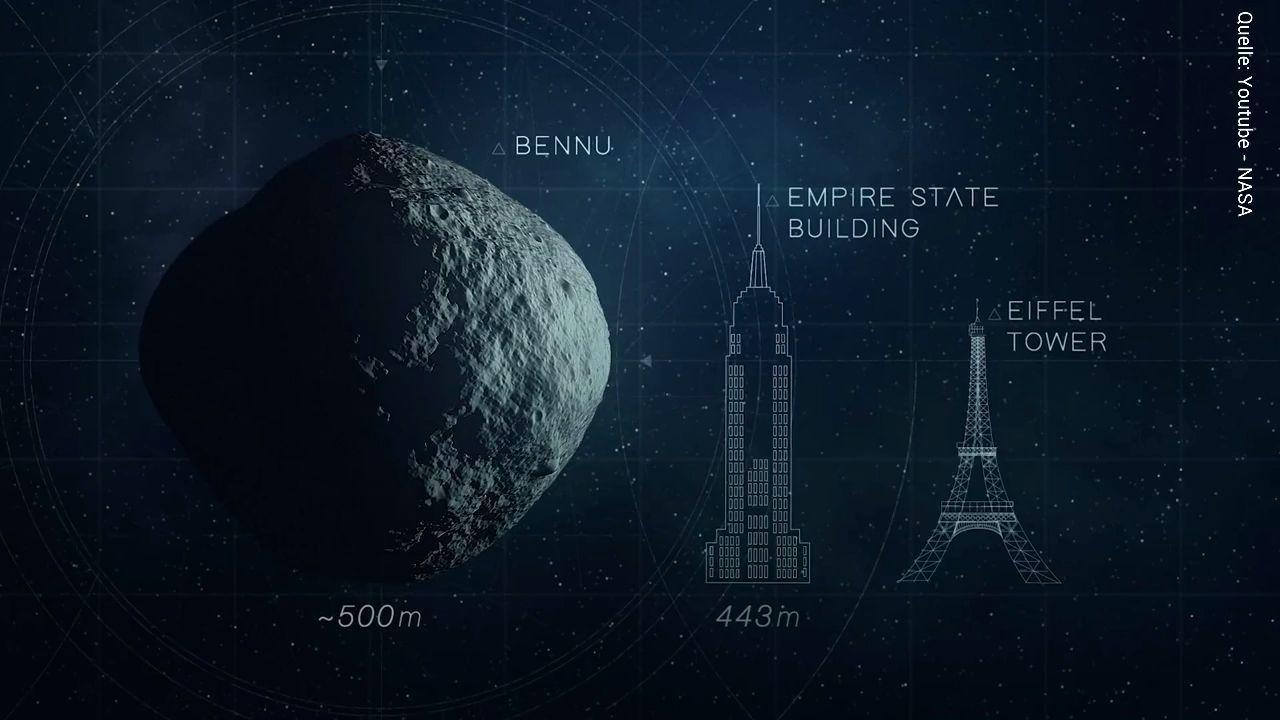 Asteroid Bennu rast auf die Erde zu – NASA hat bereits einen Plan