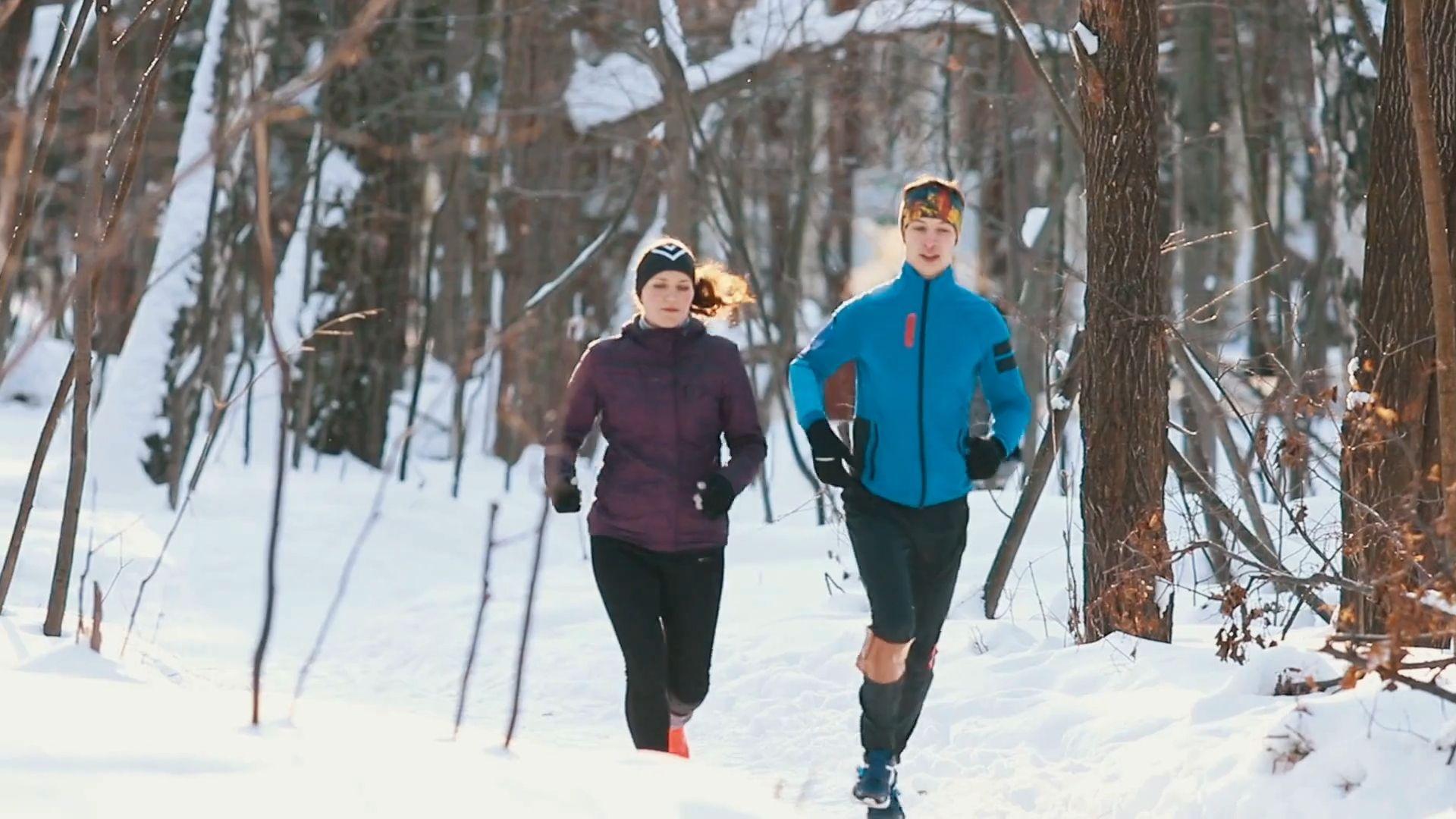 Laufen im Winter: So trainiert man ohne Probleme auch bei Kälte
