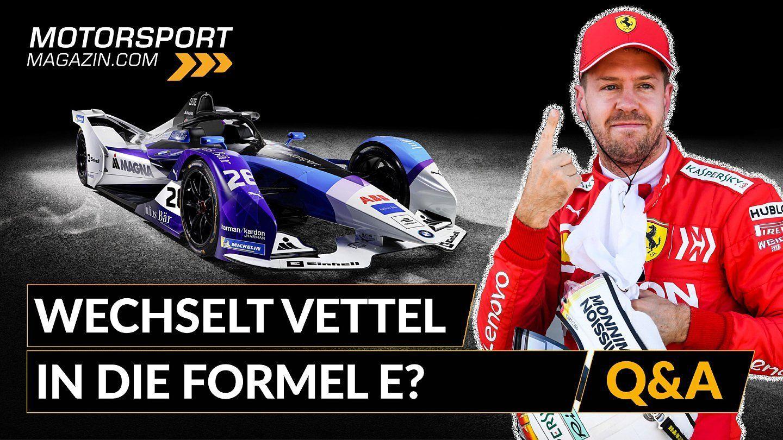 Formel 1 Q&A: Wechselt Vettel in die Formel E?