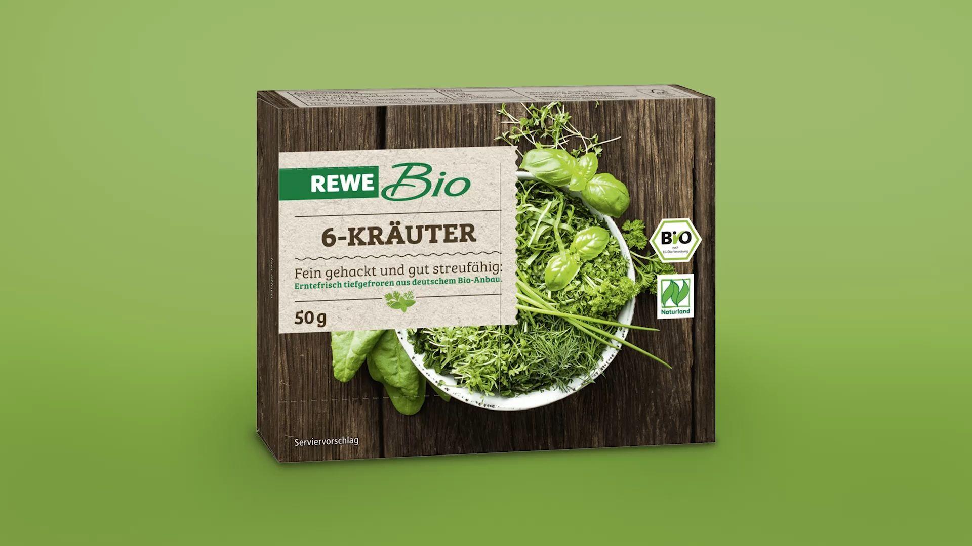 Rückruf bei Rewe: Darmbakterien in TK-Bio-Kräutern