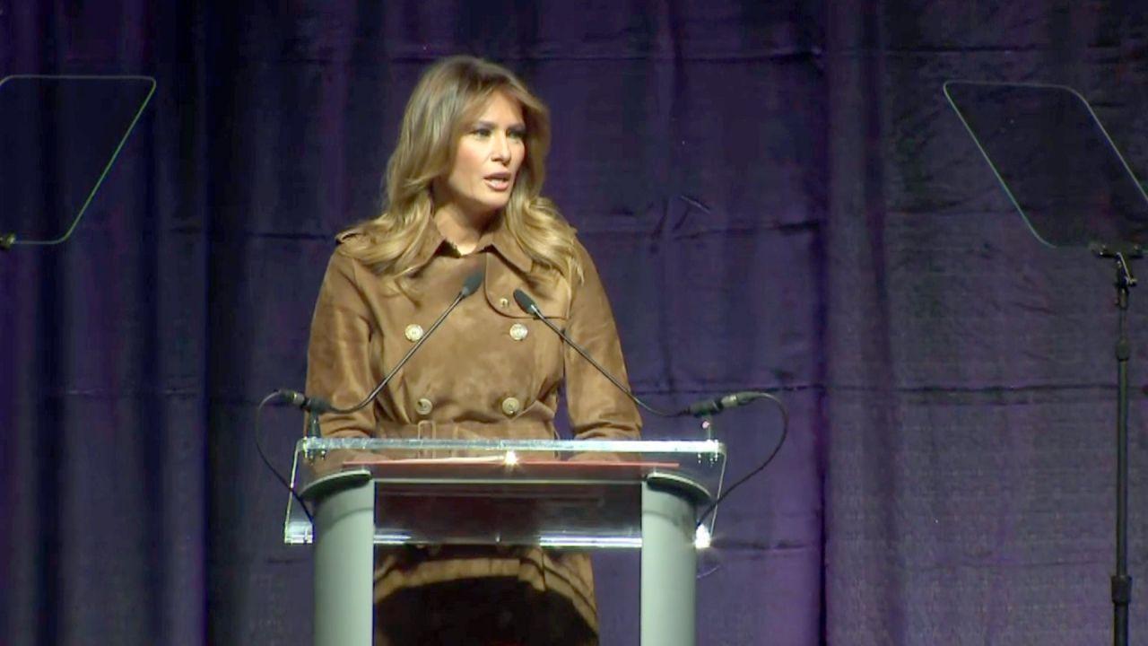 First Lady nicht willkommen: Melania Trump von Schülern ausgebuht