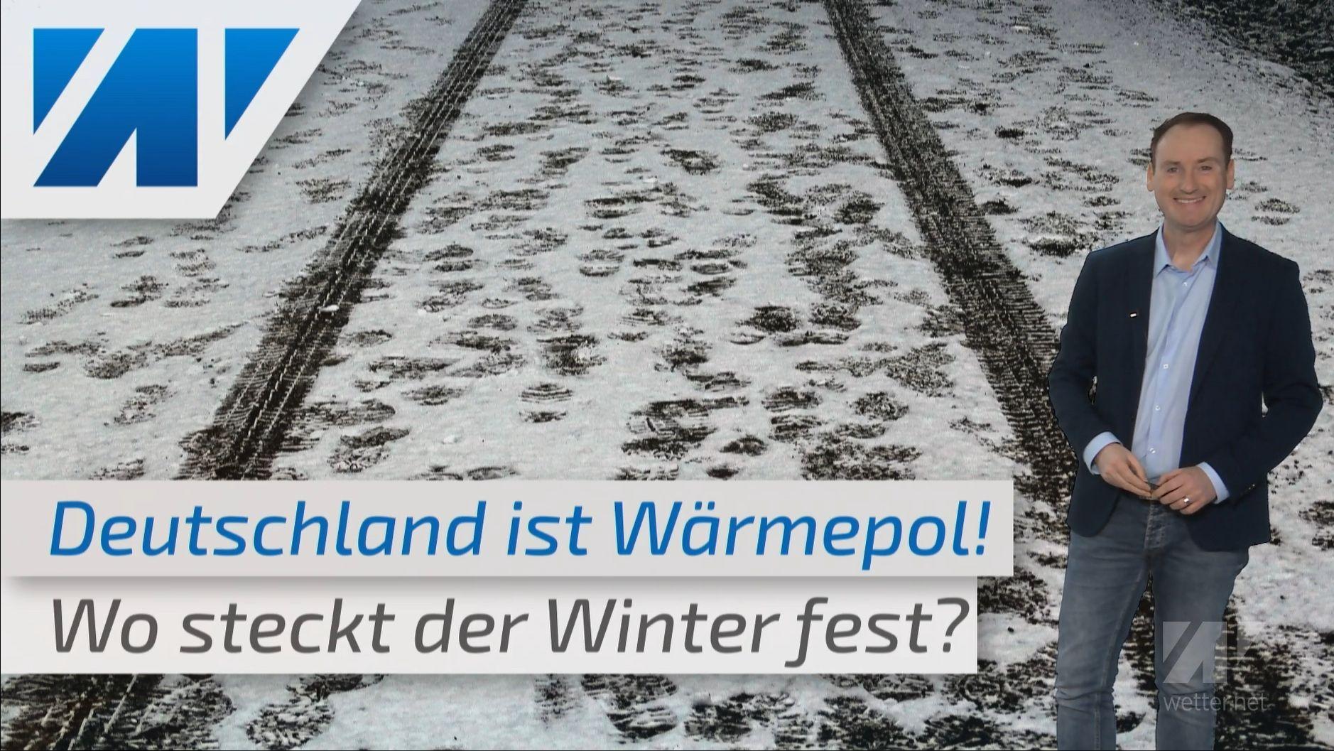 Wo steckt der Winter? Deutschland ist aktuell der Wärmepol Europas!