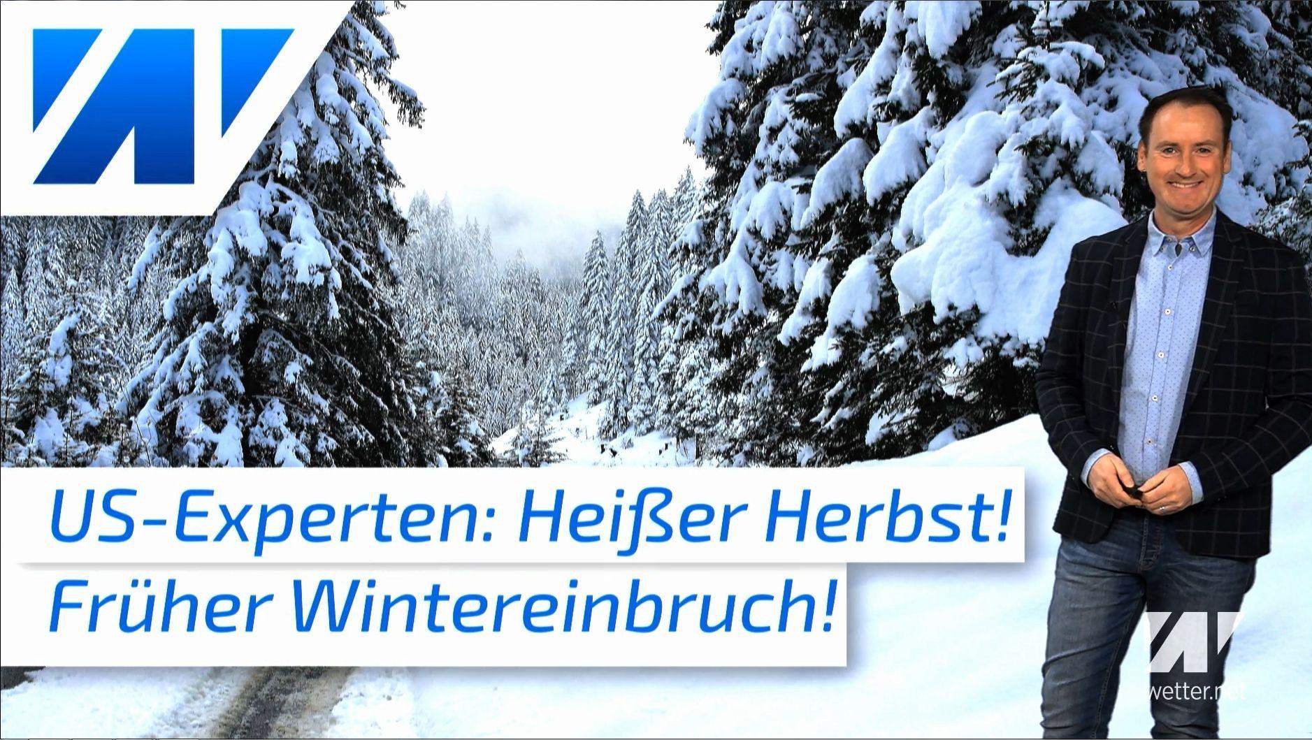 US-Experten warnen vor frühem Wintereinbruch in Deutschland!