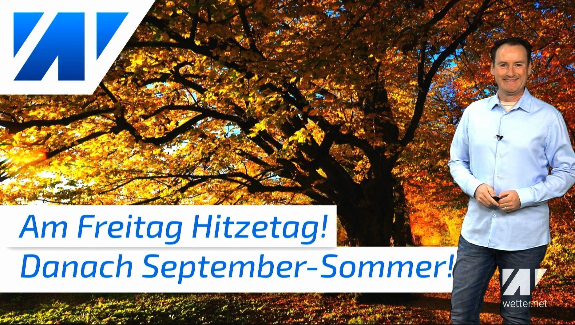 Erst Hitzetag, dann September-Sommer? So geht´s beim Wetter weiter!