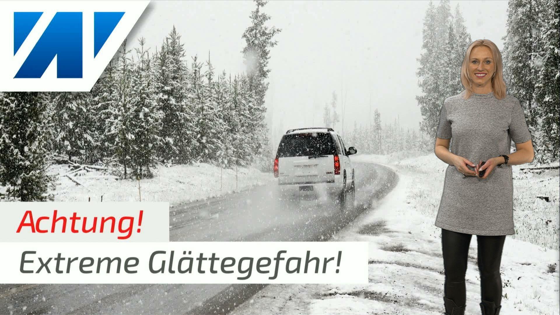 Vorsicht: Enorme Neuschneemengen und extreme Glättegefahr am 2. Adventswochenende!