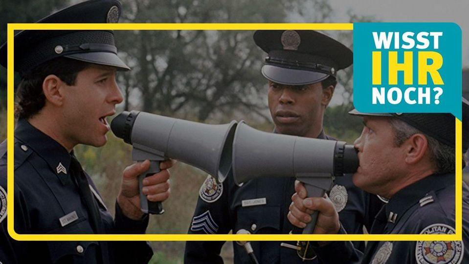 Police Academy: So sehen die Stars heute aus!