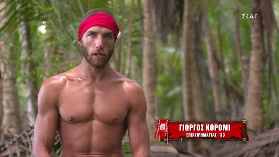 "Survivor | Ο Γιώργος Κόρομι ""καρφώνει"" τους κόκκινους: ""Έγιναν κάποια λάθη  ... | webtv Ειδήσεις | Yupiii.gr"