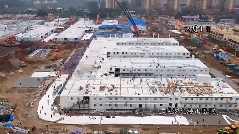 china krankenhaus in 6 tagen