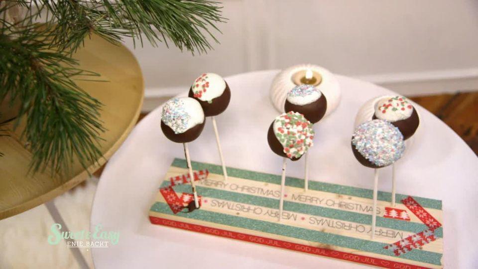 Weihnachtliche Cake-Pops von Sweet & Easy
