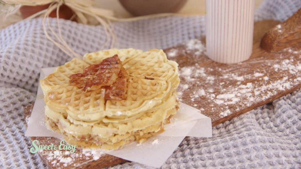 Sweet & Easy - Enie backt: Waffeln mit Bacon und Ahornsirup
