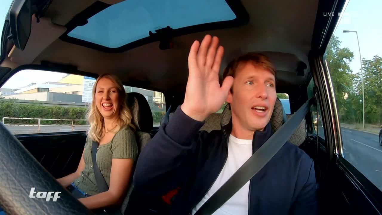 Stars in Cars mit James Blunt - er zeigte eine ganz neue Seite!