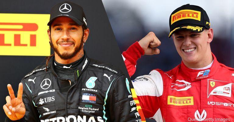 """""""Imponiert mir"""": Formel 1-Star Hamilton über Mick Schumacher"""