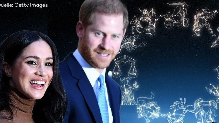 Das verraten die Sterne über die Zukunft von Harry und Meghan