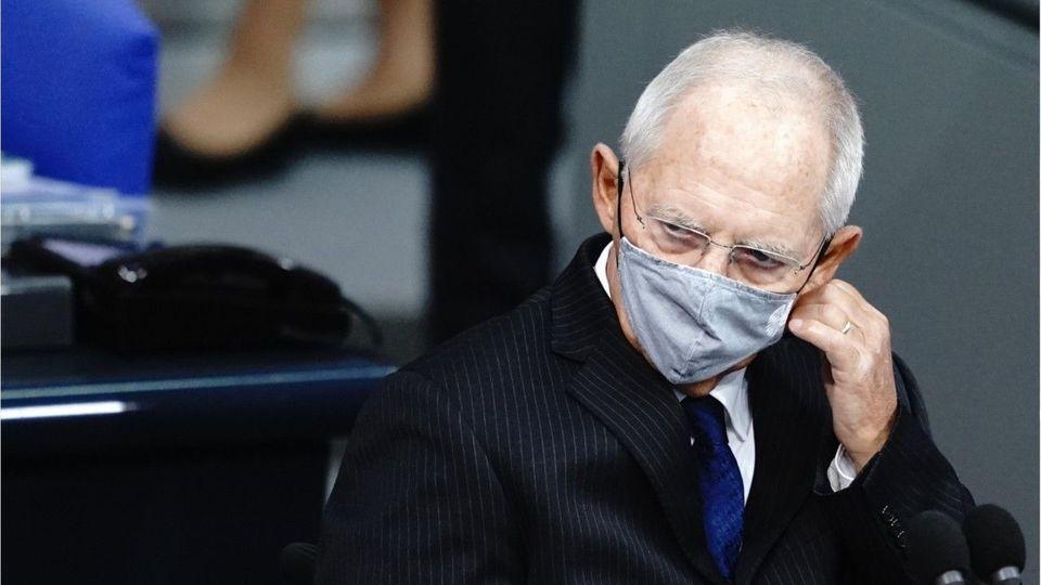Jetzt auch im Bundestag: Schäuble verhängt Maskenpflicht