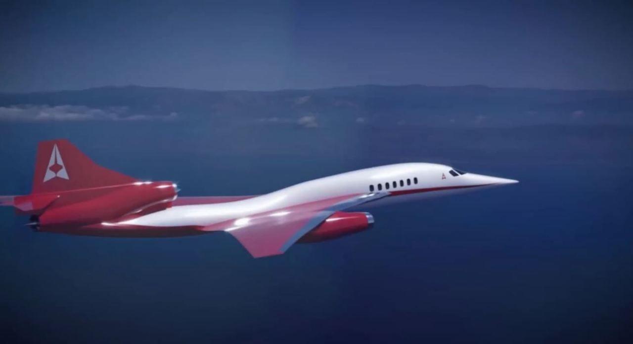 Neues Überschall-Flugzeug soll in einer Stunde von London nach New York fliegen