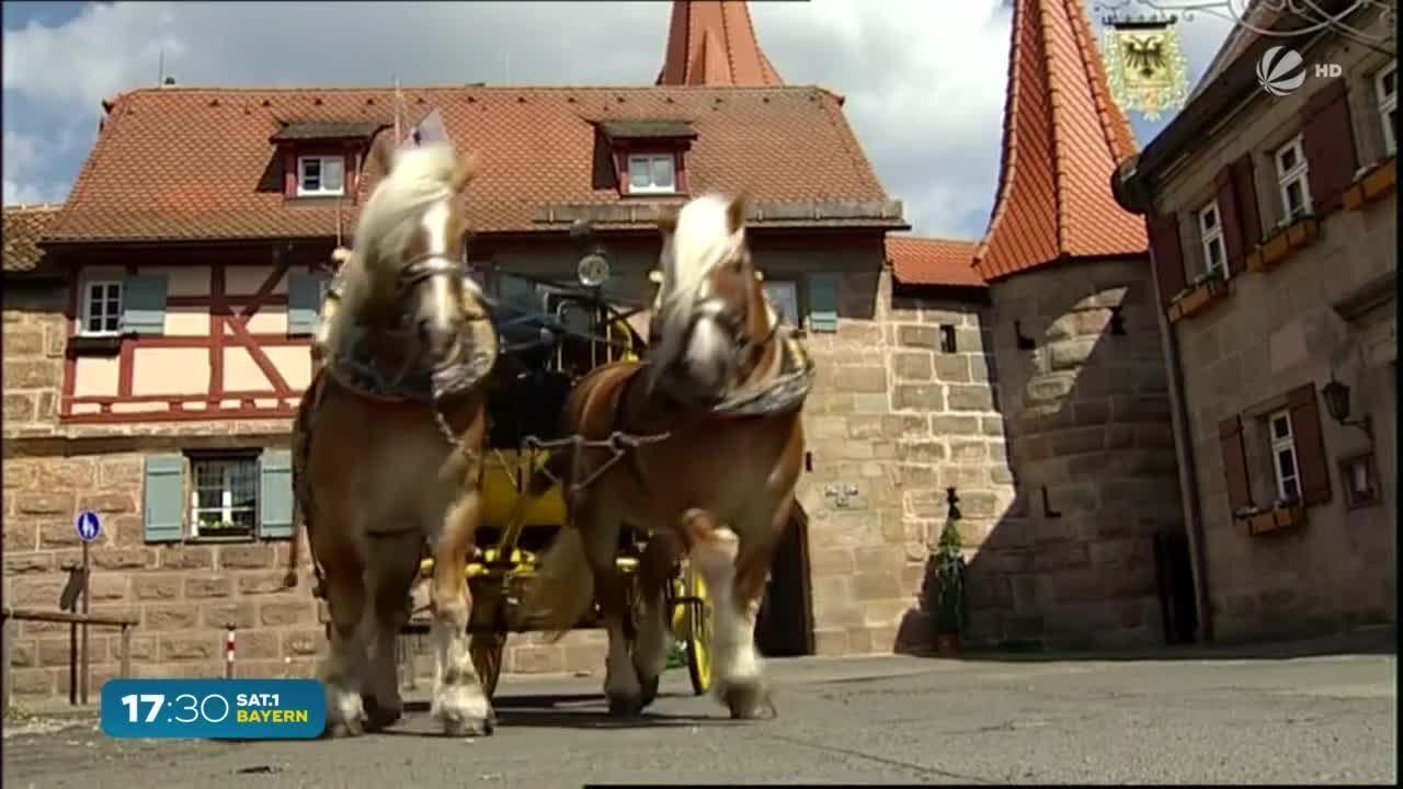 Da schau her – Mehr Wissen über Bayern: Hier fährt die letzte Postkutsche