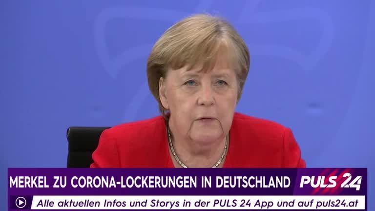 Bundeskanzlerin Angela Merkel zu Lockerungen in Deutschland